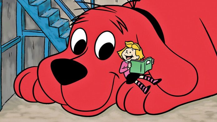 clifford the big red dog, cinematographe.it