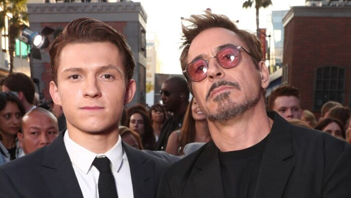 Tom Holland Robert Downey Jr. Cinematographe