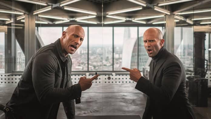 Fast & Furious - Hobbs & Shaw, Dwayne Johnson, cinematographe