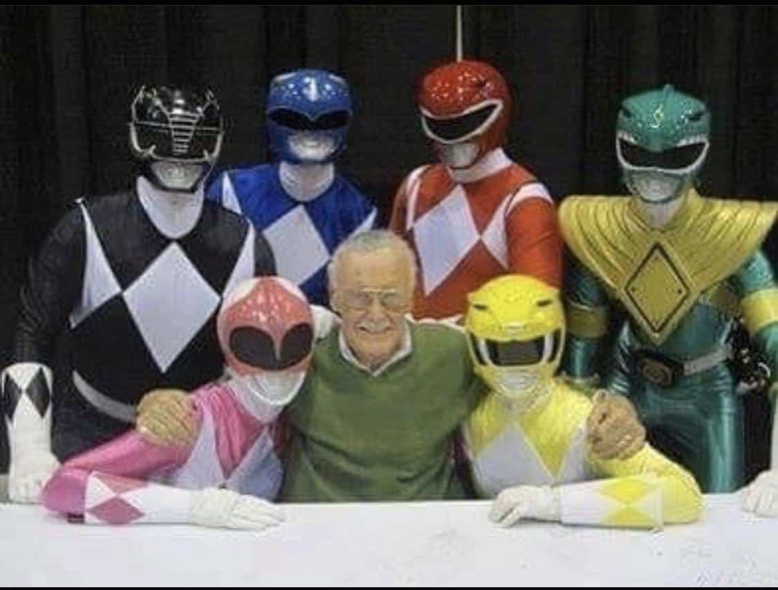 Stan lee, Power Rangers, Cinematographe.it