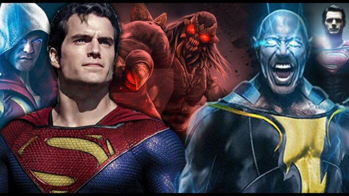 Black Adam, Superman, Cinematographe.it