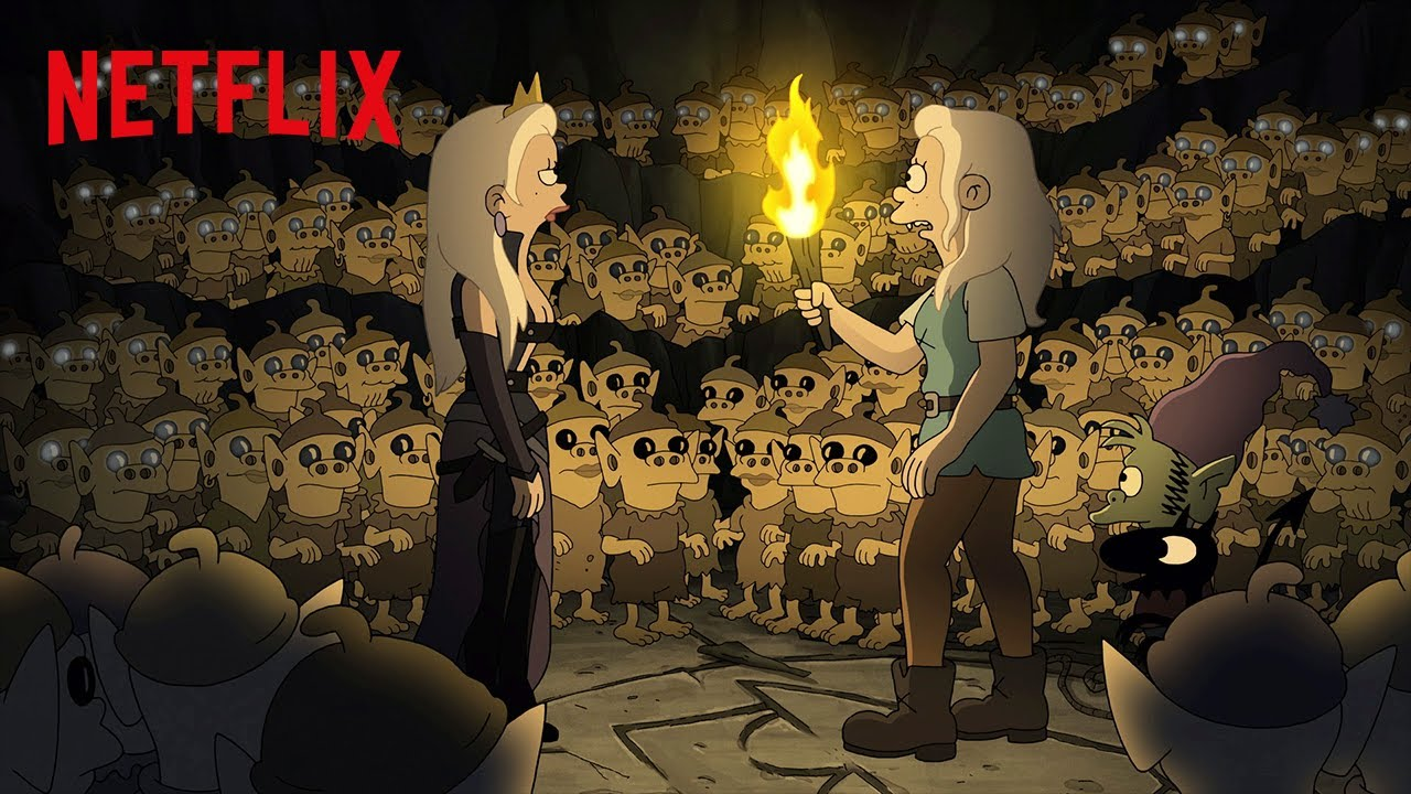 Disincanto - Parte 3: Netflix rivela che arriverà nel 2020