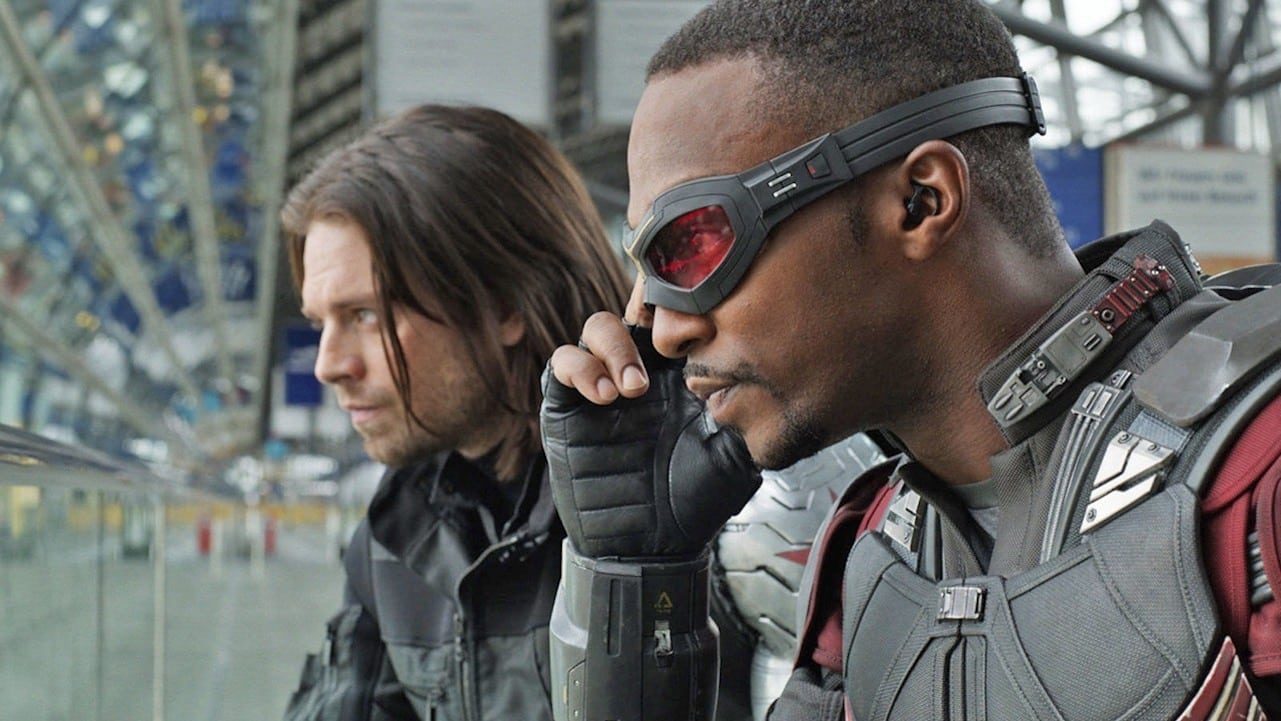 The Falcon and the Winter Soldier: avvistato il primo merchandising