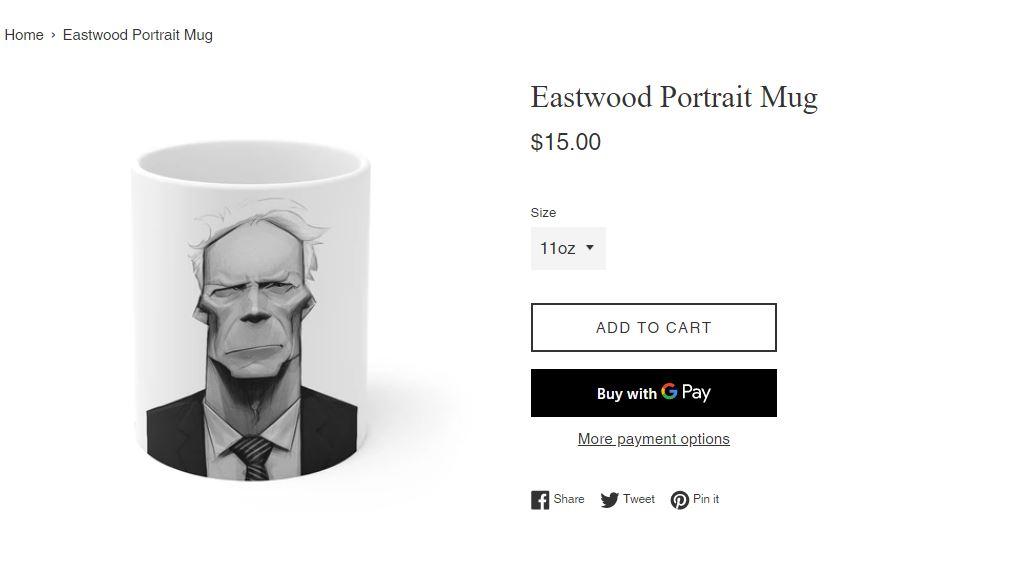 Clint Eastwood shop online