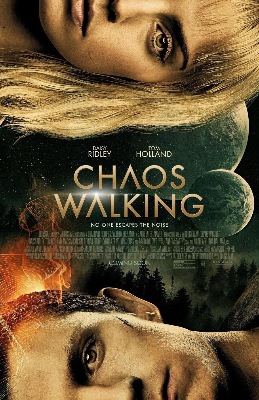 Chaos Walking: il poster