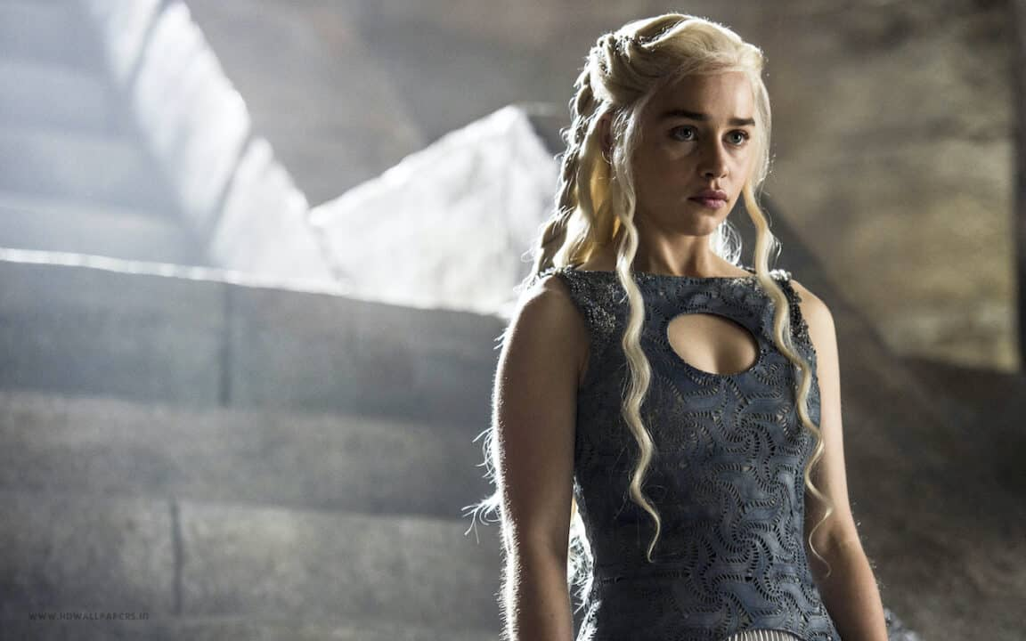 Khaleesi in Game of Thrones