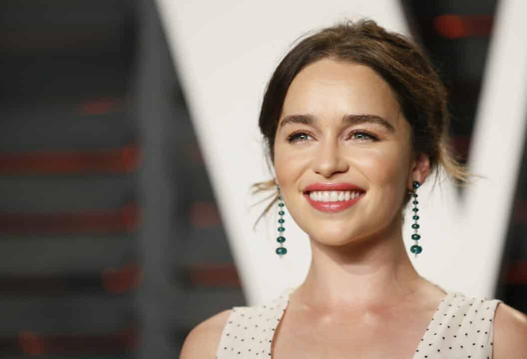 Emilia Clarke che sorride