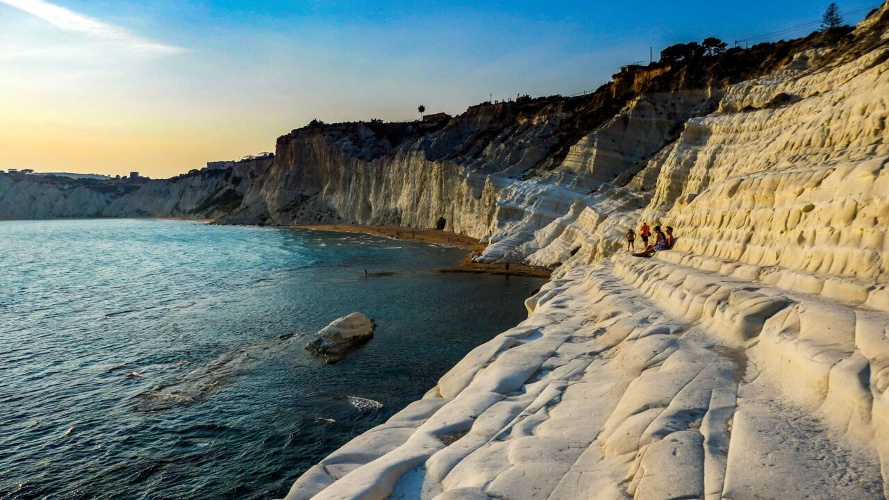Scala dei Turchi In Guerra per amore Cinematographe.it