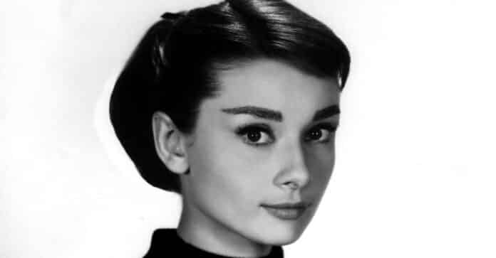 Audrey Hepburn primo piano
