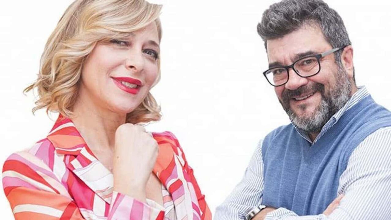 Pannofino e Emanuela Rossi