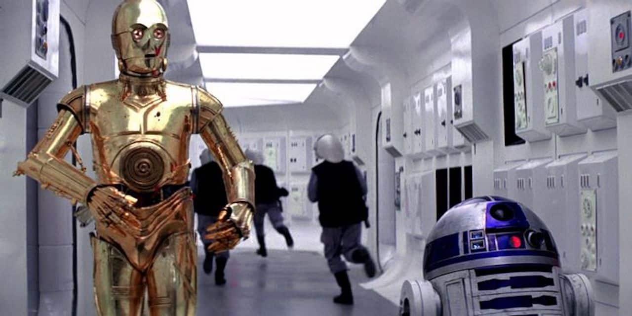 C-3PO e R2-D2 in Star-Wars Episodio 4 Una Nuova Speranza
