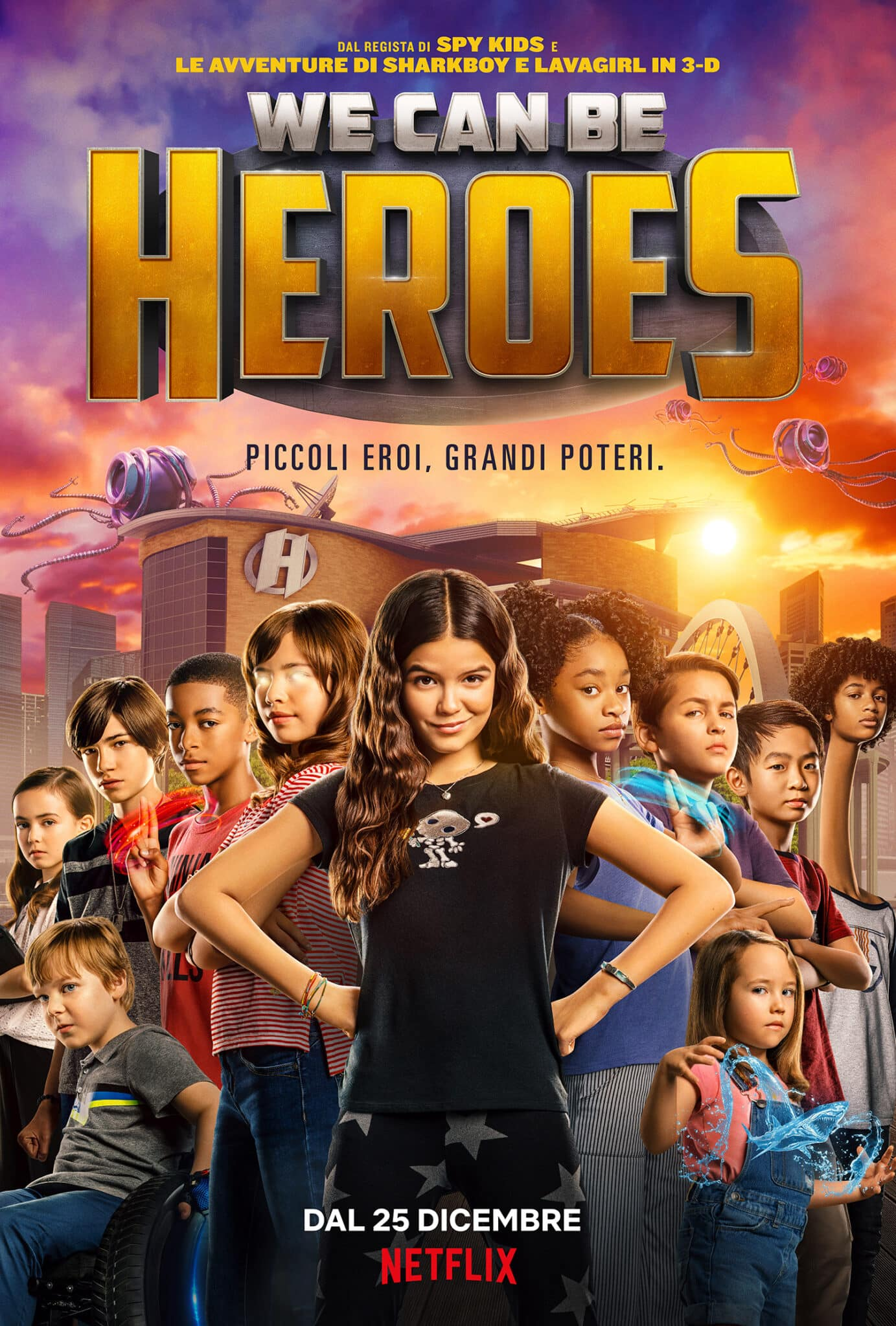 We can be heroes - Cinematographe.it