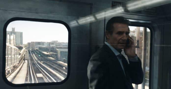 Liam Neeson in The commuter - L'uomo sul treno