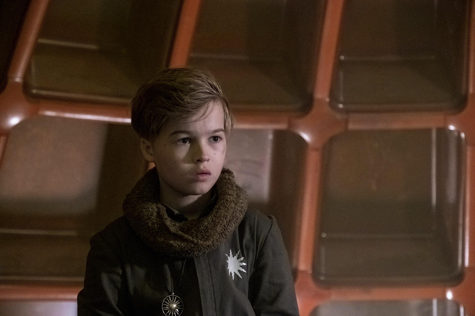 Felix Jamieson raised by wolves cinematographe.it