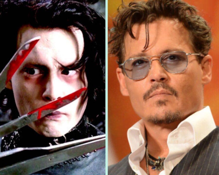 Edward mani di forbice: Johnny Depp com'era e com'è