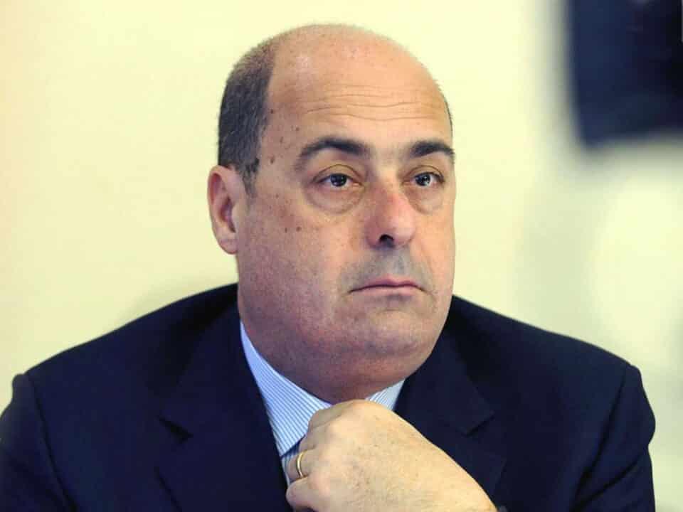 Nicola Zingaretti pensieroso