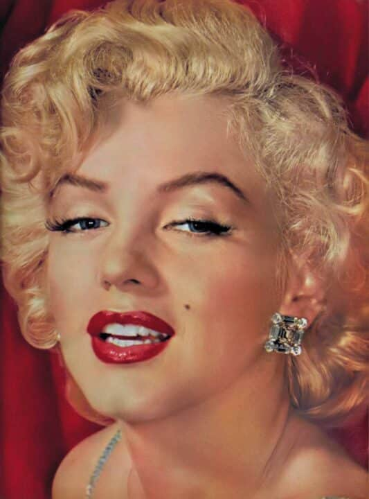attrice Marilyn Monroe
