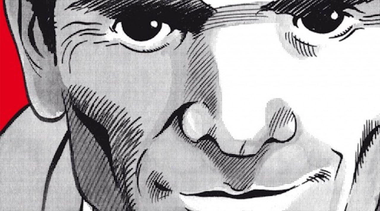 Rappresentazione in fumetto di Pasolini