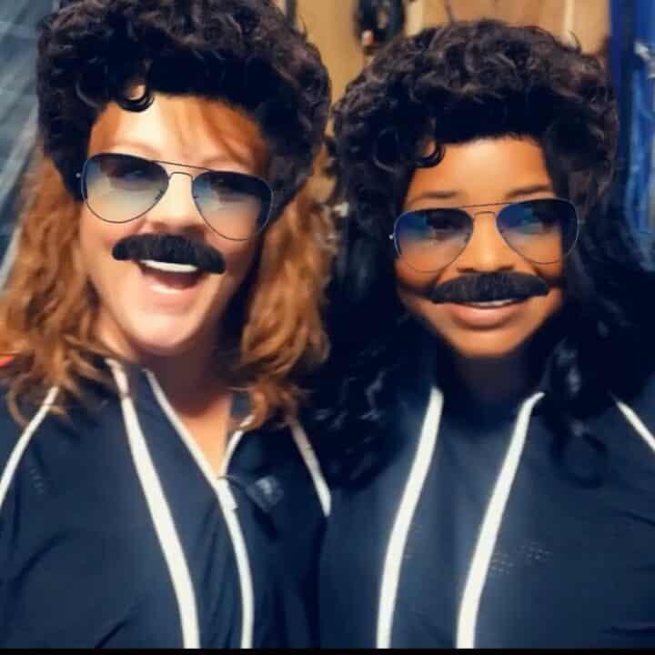 Octavia Spencer e Melissa McCarthy portano i baffi