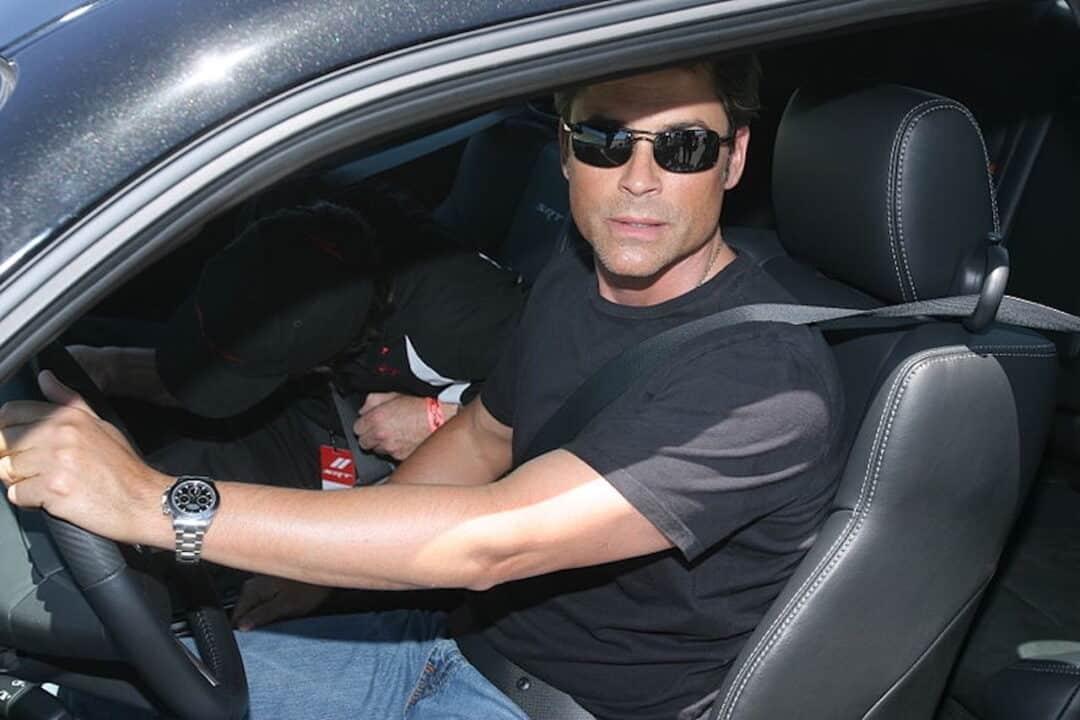 Rob Lowe al volante