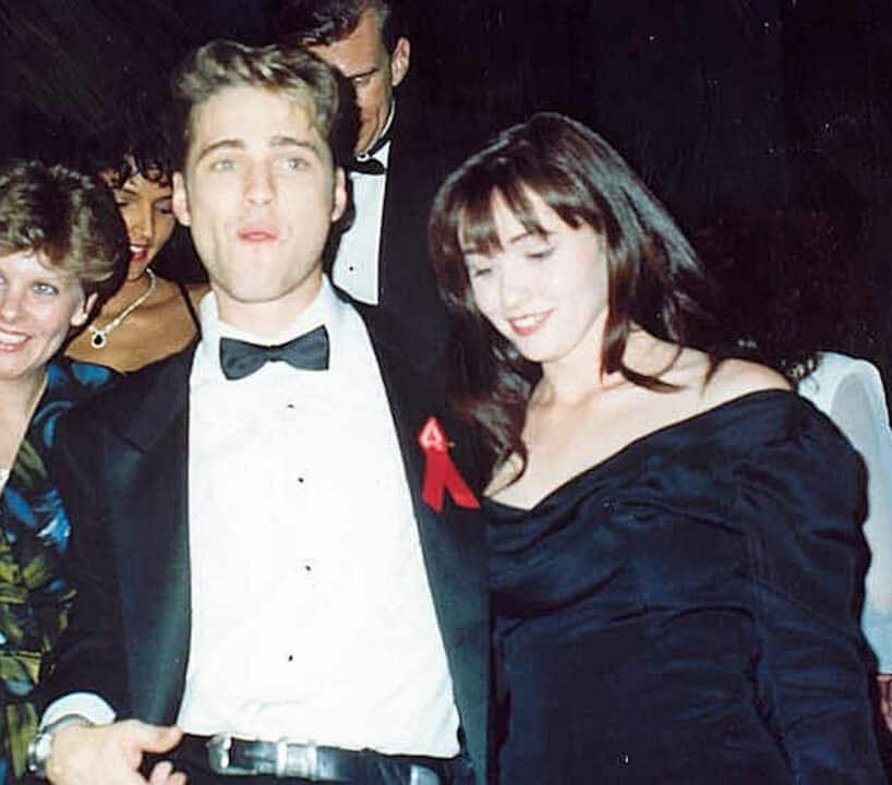 Jason Priestley e Shannen Doherty