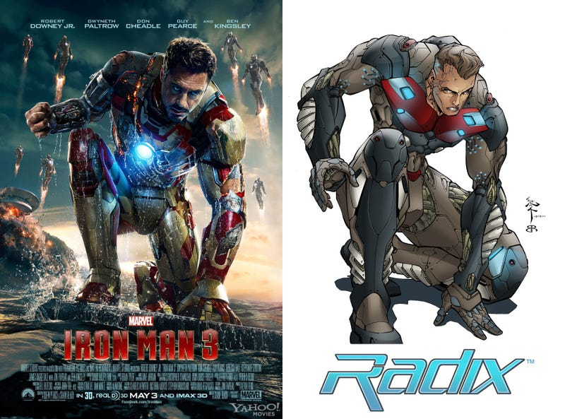 Iron Man, Radix