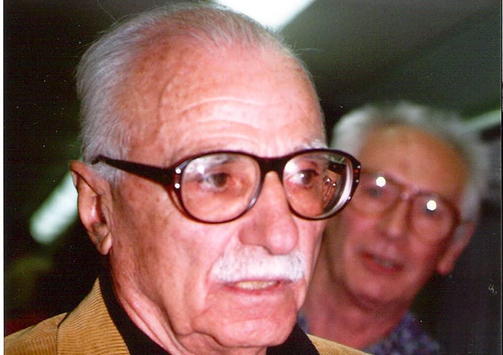 Mario Monicelli primo piano