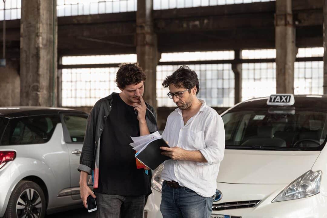 Niels Schneider e Lamberto Sanfelice, cinematographe.it