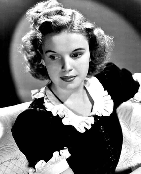 Judy Garland in bianco e nero