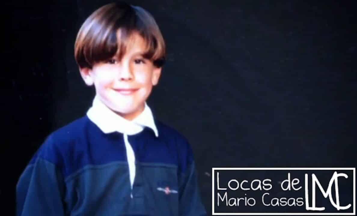 Mario Casas da piccolo