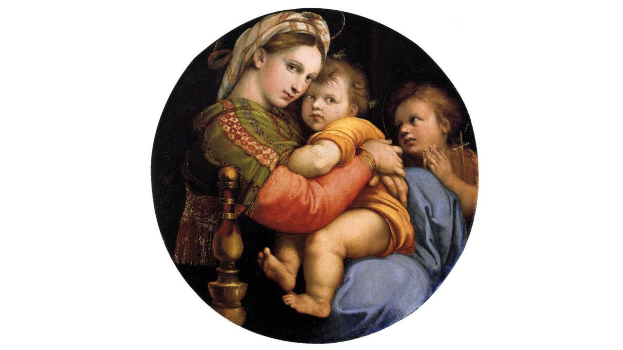 Raffaello. Il giovane prodigio - Madonna della seggiola