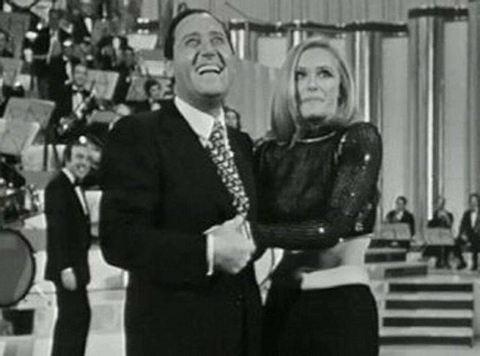 Alberto Sordi e Raffaella Carrà