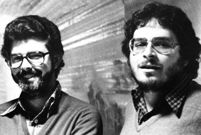 Lawrence Kasdan e George Lucas