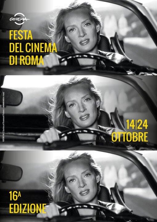 Festa del Cinema di Roma poster Uma Thurman