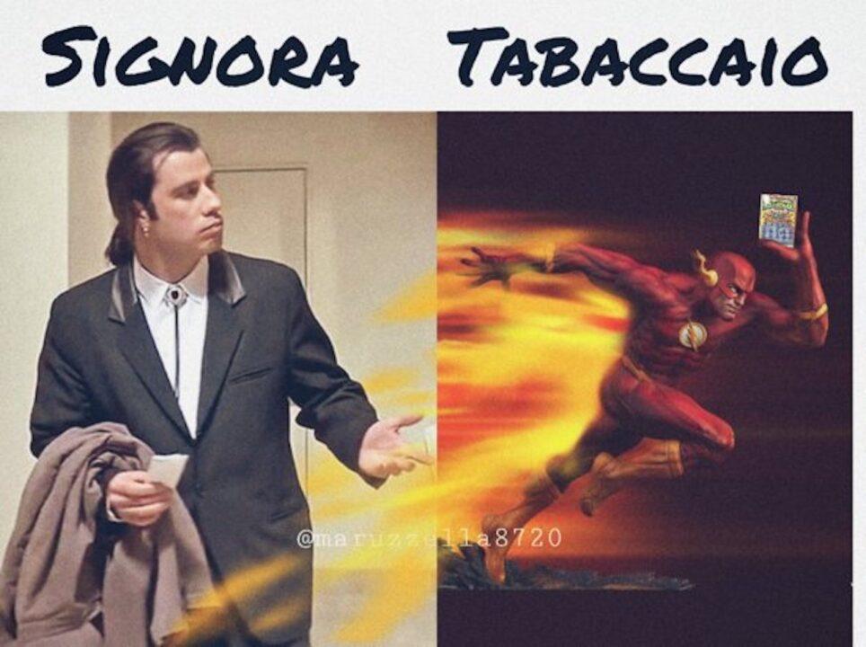 Meme tabaccaio flash