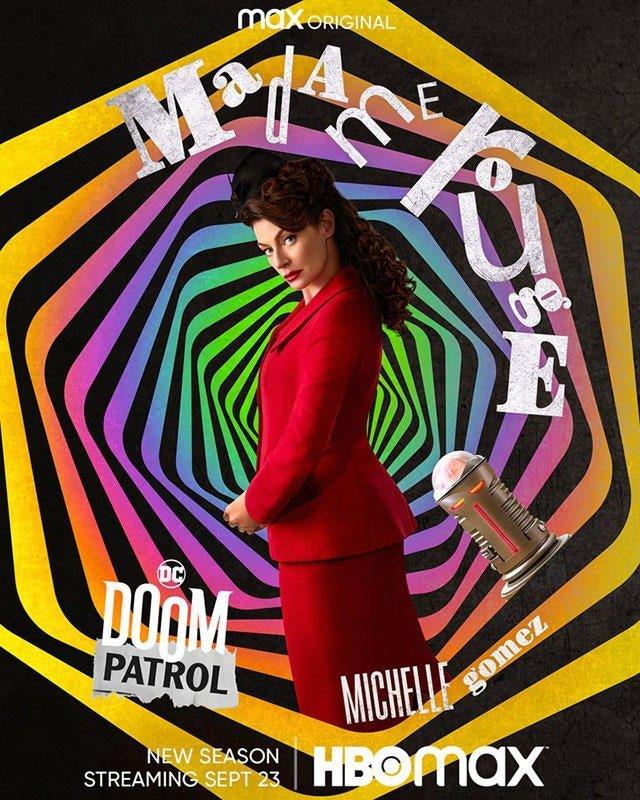 Doom Patrol 3 poster 01 - Cinematographe.it